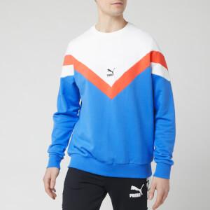 Puma Men's Iconic Mcs Crew Neck Sweatshirt - Palace Blue