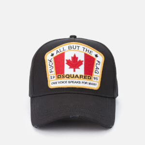 Dsquared2 Men's Flag Baseball Cap - Black