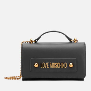 Love Moschino Women's Logo Shoulder Bag - Black