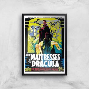 Les Maitresses De Dracula Giclee Art Print