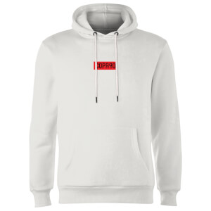 Everyday Colour Collection - White/Red/Black Hoodie - White