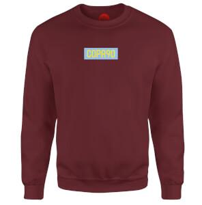COPA90 Everyday - Maroon/Blue/Yellow Sweatshirt - Burgundy