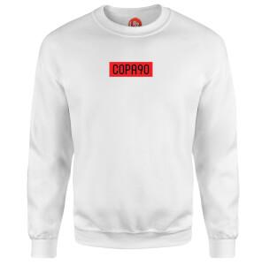 COPA90 Everyday - White/Red/Black Sweatshirt - White