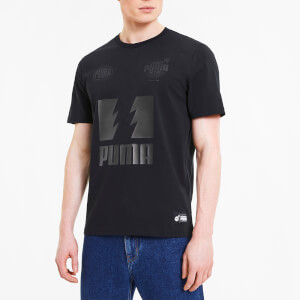 Puma X The Hundreds Men's Short Sleeve T-Shirt - Black