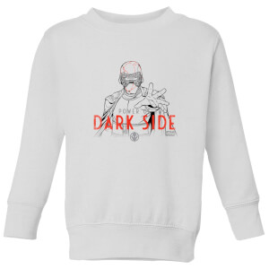 Star Wars The Rise Of Skywalker Star Wars IX Kylo Darkside Powers Kids' Sweatshirt - White