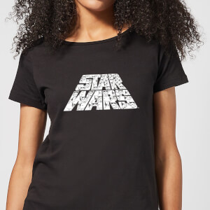Star Wars The Rise Of Skywalker Star Wars IW Trooper Filled Logo Women's T-Shirt - Black