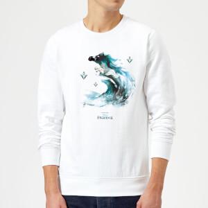 Frozen 2 Nokk Water Silhouette Sweatshirt - White