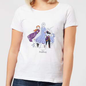 Frozen 2 Group Shot Women's T-Shirt - White