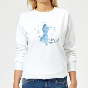Frozen 2 Ice Breaker Women's Sweatshirt - White