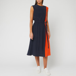 BOSS Women's Chanti 1 Dress - Open Blue