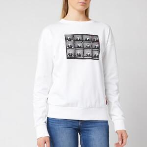 HUGO Women's Nacita 1 Sweatshirt - White