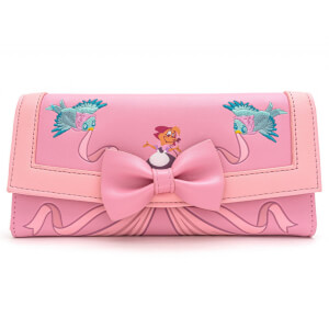 Loungefly Disney Cinderella 80th Anniversary Dress Flap Wallet