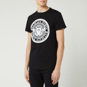 Balmain Men's Coin T-Shirt - Noir