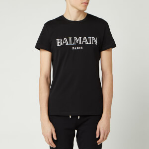 Balmain Men's Paris T-Shirt - Noir