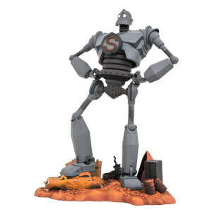 Statuetta in PVC di Superman, Iron Giant Gallery - Diamond Select