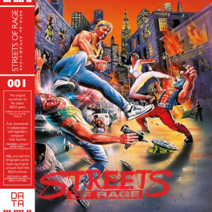 Data Discs - Streets of Rage Video Game Soundtrack LP