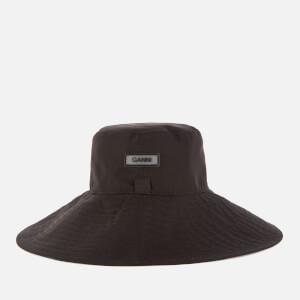 Ganni Women's Tech Fabric Hat - Black