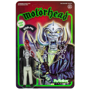 Super7 Motorhead War-Pig Glow in the Dark Action Figure