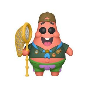 Figurine Pop! Patrick En Tenue De Camping - Bob L'éponge, le film: Éponge En Eaux Troubles