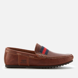 Barbour Men's Mansell Loafers - Cognac