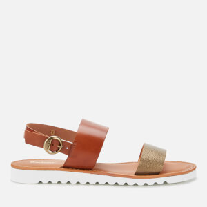 Barbour Women's Mia Double Strap Sandals - Brown/Bronze