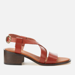 Barbour Women's Thea Block Heeled Sandals - Tan