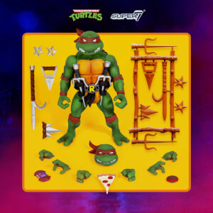 Super7 Teenage Mutant Ninja Turtles Ultimates - Raphael Action Figure