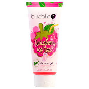 Bubble T Ice Tea Shower Gel Raspberry 200ml