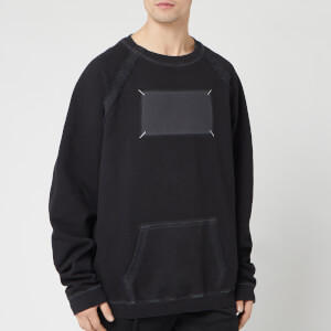 Maison Margiela Men's Gost Logo Sweatshirt - Black