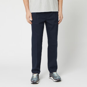 Maison Margiela Men's Waist Tab Trousers - Dark Blue