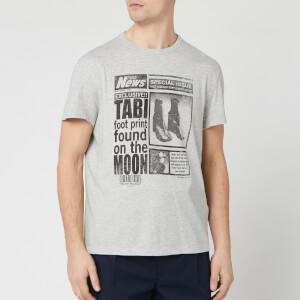 Maison Margiela Men's Tabi T-Shirt - Grey Melange