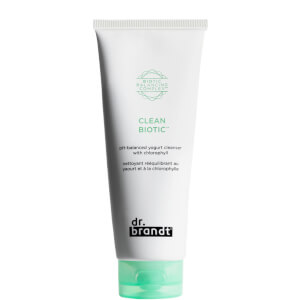 Dr. Brandt Clean Biotic pH Balanced Yogurt Cleanser with Chlorophyll 100ml