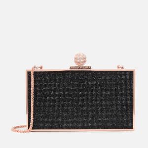 Sophia Webster Women's Clara Crystal Box Bag - Black