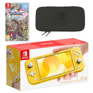 Nintendo Switch Lite (Yellow) DRAGON QUEST XI S: Echoes of an Elusive Age Pack