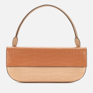 Danse Lente Women's Baguette Shoulder Bag - Toffee/Tan Croc