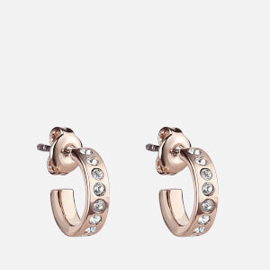 Ted Baker Women's Seeni Mini Hoop Huggie Earrings - Rose Gold