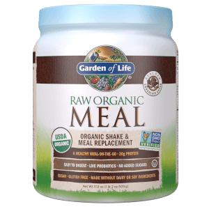 Raw Organic All-In-One Shake - Chocolate - 509g