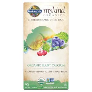 mykind Organics Calcium Végétal - 90 Comprimés