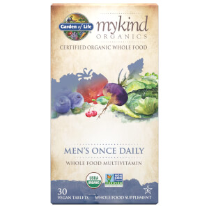 mykind Organics Multivitamines Once Daily Hommes - 30 Comprimés