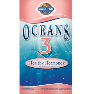 Oceans 3 Healthy Hormones Omega-3 with OmegaXanthin Softgels - 90 Softgels