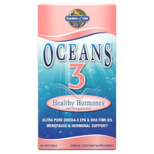 Oceans 3 Healthy Hormones Omega-3 with OmegaXanthin Softgels - Omega-3 深海魚油- 90 顆軟膠囊