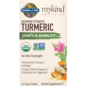 mykind Organics Herbal Curcuma - Force Maximale - 30 Comprimés
