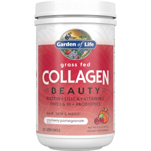 Collagene di bellezza in polvere - Mirtillo rosso e melograno - 270 g