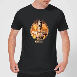 The Mandalorian IG 11 Framed Men's T-Shirt - Black