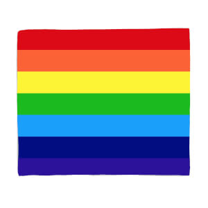 Rainbow Classic Rainbow Fleece Blanket