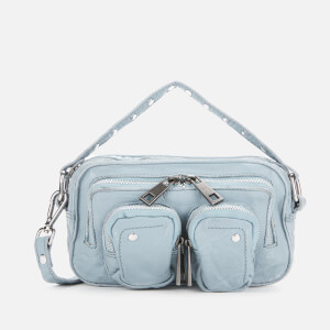 Núnoo Women's Helena Washed Cross Body Bag - Blue