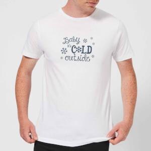Cold outside Men's T-Shirt - White
