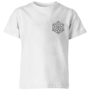 Snow flake Kids' T-Shirt - White