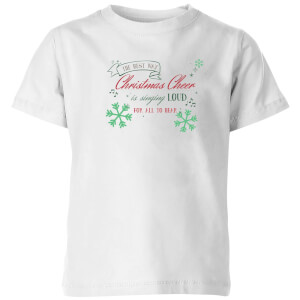 Sing loud Kids' T-Shirt - White