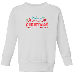 Welcome to Christmas Kids' Sweatshirt - White